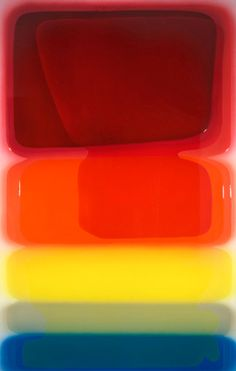 Peter Zimmermann, Deleuze  I love the colours and the 'wetness'