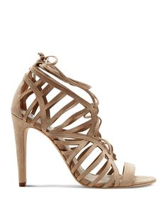 DV Dolce Vita Open Toe Caged Ghillie Lace Up Sandals - Tessah High Heel | Bloomingdale's
