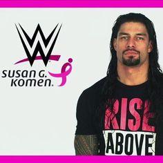 #RomanReigns #SusanGKomen #WWE