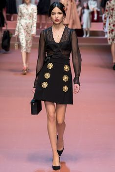 Dolce & Gabbana, Milan Fashion Week, otoño/invierno 2015-2016