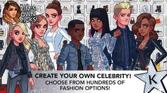 Kim Kardashian Hollywood Game you can make your own celeberities! Kim Kardashian Hollywood Game, Create Your Own, Android, Games, Celebrities, Money, Awesome, Celebs, Silver