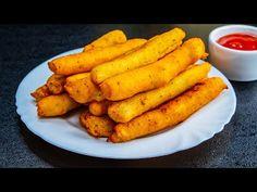 Egy csodás módszer hogyan készíthetsz sajtos krumplikrokettet!| Ízletes TV - YouTube Queso, Carrots, Food And Drink, Vegetables, Potato Croquettes, Cheesy Potatoes, Corn Starch, Savory Foods, Savory Snacks