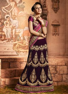 Khantil Latest Designer Party Wear In Indian Lehenga Saree Indian Lehenga, Lehenga Style Saree, Bollywood Lehenga, Blue Lehenga, Bridal Lehenga, Saree Wedding, Wedding Wear, Wedding Store, Anarkali