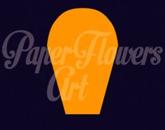 Paper Flower Template DIY Paper Flower DIY Backdrop от APaperEvent