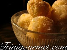 """Pawpaw Balls- one of the recipes in my ebook """"7 Sweet Trini Treats"""". Yours free upon joining the TriniGourmet mailing list. Recipes, giveaways and more! Visit http://join.TriniGourmet.com"""