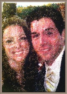 Alicia and Phil get married by BeadShopp on Etsy, $70.00