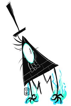 """ciphir: """" {♚} Darn Demons.""""Bill Cipher © Alex Hirsch (2012) please do not use or redistribute/repost this work. cheers. commission slots are available, pricing guide is here. """" """""""