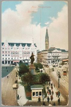 Der Alexanderplatz mit Berolina und Blick in die Königstraße. Ansichtskarten… Historical Photos, Places To Travel, Paris Skyline, New Experience, History, Image, Instagram, Europe, Yesterday And Today