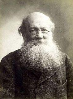 Пётр Алексе́евич Кропо́ткин (Pjotr Aljeksjejevich Kropotkin 1842-1921), Russian Geographer, Economist, Activist, Philologist, Zoologist, Evolutionary Theorist, Philosopher, Writer and Prominent Anarchist.