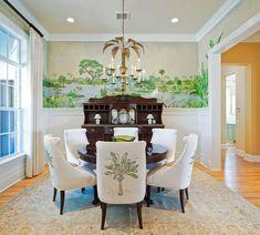 Wohnideen In Grün tapeten farben ideen esszimmer mit weißen möbeln und rosigen wänden