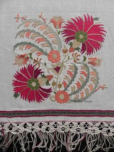 Turk work embroidery @Af's 5/1/13