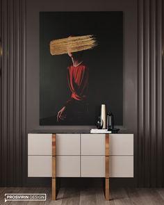 Luxury Dining Room, Dining Room Design, Contemporary Interior Design, Home Interior Design, Sideboard Decor, Hallway Designs, Design Your Dream House, Bed Design, Interiores Design