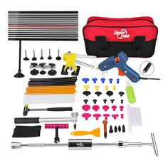 Super PDR Paintless Dent Repair Tools Set High Quality Car Dent Removal Collision Repair Tools Kit for Sale Auto Body Shop