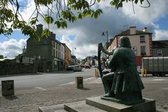 Find or contact Turlough O'Carolan Statue in Mohill, Co. Add Turlough O'Carolan Statue location to your smart phone, Garmin or TomTom. Find other nearby Castles Heritage Ruins Monuments. Erin Go Bragh, Irish Roots, Irish Celtic, Luck Of The Irish, In Boston, The Republic, Street View, Statue, History