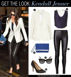 Get the Look: Kendall Jenner  #celebritystyle #lookforless