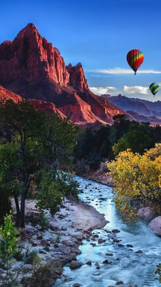 Zion National Park Hot Air Balloons by Andrew Cirrincione Zion National Park, National Parks, Beautiful World, Beautiful Images, Landscape Photography, Nature Photography, Photography Tips, Photos Of The Week, Places Around The World