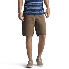 Men's Lee Denim Carpenter Shorts, Size: 32, Dark Brown
