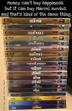 It's really insane to think how many MCU movies there now are and how amazing most of them are! Comment below your favorite MCU movie! Funny Marvel Memes, Dc Memes, Marvel Jokes, Marvel Dc Comics, Marvel Heroes, Captain Marvel, Funny Jokes, The Avengers, Avengers Memes