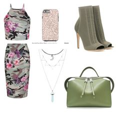 """""""salida de noche !!"""" by yarlin-perez on Polyvore featuring New Look, Gianvito Rossi and Jil Sander"""