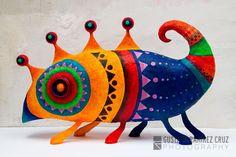Gustavo Ramirez Cruz - Paper Mache Artist