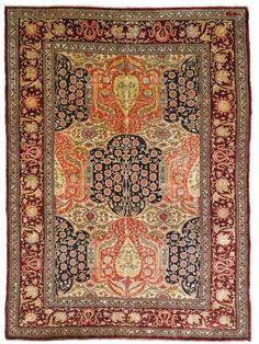 Turkish rug, West Anatolian, Hereke rug