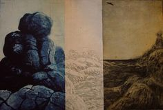 """""""Reminds Me Of You""""- Jonathan Partridge - Multi-plate etching Partridge, Tasmania, Color Patterns, Mount Rushmore, Jackson, Gallery, Artwork, Plate, Painting"""