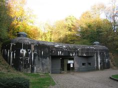 Ouvrage Schoenenbourg, at the east end of the Alsace portion of the Maginot Line