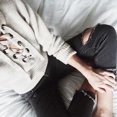 "Mary Seng on Instagram: ""another sweatshirt & denim day"""