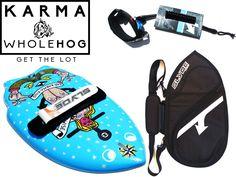 The karma Handboard for Bodysurfing Whole Hog Package