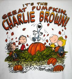 It's the Great Pumpkin, Charlie Brown! watching this with you every year for the next 9 years on Oct 31 :)