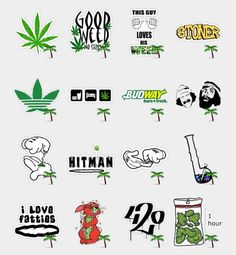Weed Stickers Set | Telegram Stickers