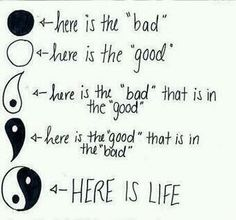 Ying Yang This shows the different meanings of Ying and Yang and what they represent. it represents 'Life' . MY Life The Words, Shing Shang, Quotes To Live By, Life Quotes, Bad Quotes, Diary Quotes, Bad Life, Live Life, Teen Quotes