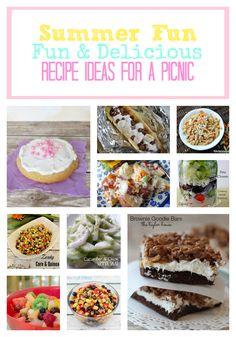 Picnic Recipe Ideas, Delicious Picnic Food, Easy Picnic Ideas