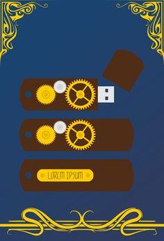 #Steampunk #Flash #Drive by JesterMcneily.deviantart.com on @DeviantArt