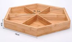 Fashion dried fruit box with cover bamboo nuts snack bowl dish plates candy storage tray Loja Online Wooden Projects, Woodworking Projects Diy, Wooden Crafts, Dry Fruit Box, Dried Fruit, Wooden Art, Wooden Boxes, Wooden Box Designs, Snack Bowls