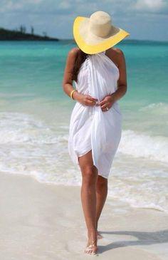57 Ideas De Pareos Y Kimono Para La Playa Ropa Moda Vestidos De Playa