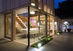 Contemporary Extension and Renovation in East London  + Wood Award 2012 Winner