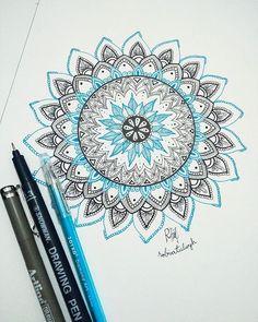 ❗Mandala Zone❗ (2/9) . . . #art #myart #artwork #drawing #sketchbook #mandala #mandaladrawing #mandalalove #black #blue #zentangle Mandala Art, Zentangle, Coloring, Ink, Drawing, Mandalas, Zentangle Patterns, Zentangles, Zen Tangles