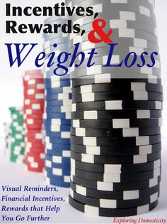 Incentives, Rewards, and Weight Loss: visual rewards, financial incentives, and rewards that help you go further