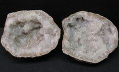 Sparkly-3-75-034-Diameter-Matching-Quartz-lined-Keokuk-Iowa-area-Geode-Pair