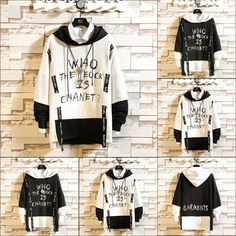 Discover the latest range of hoodies and sweatshirts for men. Shop for a range of men's sweatshirt styles, from plain to oversized hoodies. Edgy Outfits, Swag Outfits, Cool Outfits, Indian Men Fashion, Punk Fashion, Lolita Fashion, Cut Shirts, Band Shirts, Kawaii Sweater