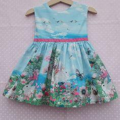 BNWT NEXT 9-12-18 months 4-5 years girls MOUSE RANGE DRESS*TUNIC *BLUE*STRIPES