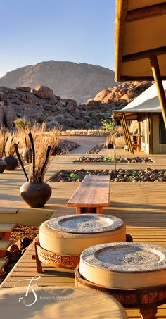 Wolwedans Boulders Camp | Luxury Hotels