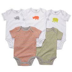 Carter's 5-pack bodysuits on sale for $15