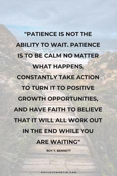 patience is not the ability to wait. patience is to be calm no matter what happens Simple Love Quotes, Love Quotes For Wedding, Best Love Quotes, Calm Quotes, Peace Quotes, Life Quotes, Have Patience Quotes, Waiting Quotes For Him, Forbidden Love Quotes