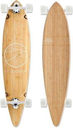 longboard----My dream! :) For my 30 birthday I better get like 10 of these! Surfboard Skateboard, Skateboard Design, Electric Skateboard, Bamboo Longboard, Longboard Shop, Longboard Decks, Long Skate, Snowboard Design, Skate Girl