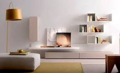 Discover all the information about the product Contemporary living room wall unit / lacquered wood - md house and find where you can buy it. Living Room Wall Units, Living Room Cabinets, Living Room Shelves, Living Room White, White Rooms, Cozy Living Rooms, Living Room Interior, Living Room Designs, Wall Cabinets
