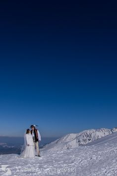 Wedding session in the Tatra Mountains. / Plener ślubny w Tatrach.