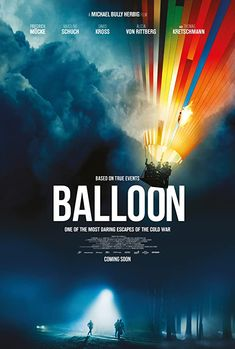 Ballon (2018) Balloon is a German thriller that deals with the crossing of the inner German border of the families Strelzyk and Wetzel from the GDR to West Germany with a homemade hot-air balloon.