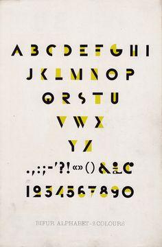 Bifur typeface